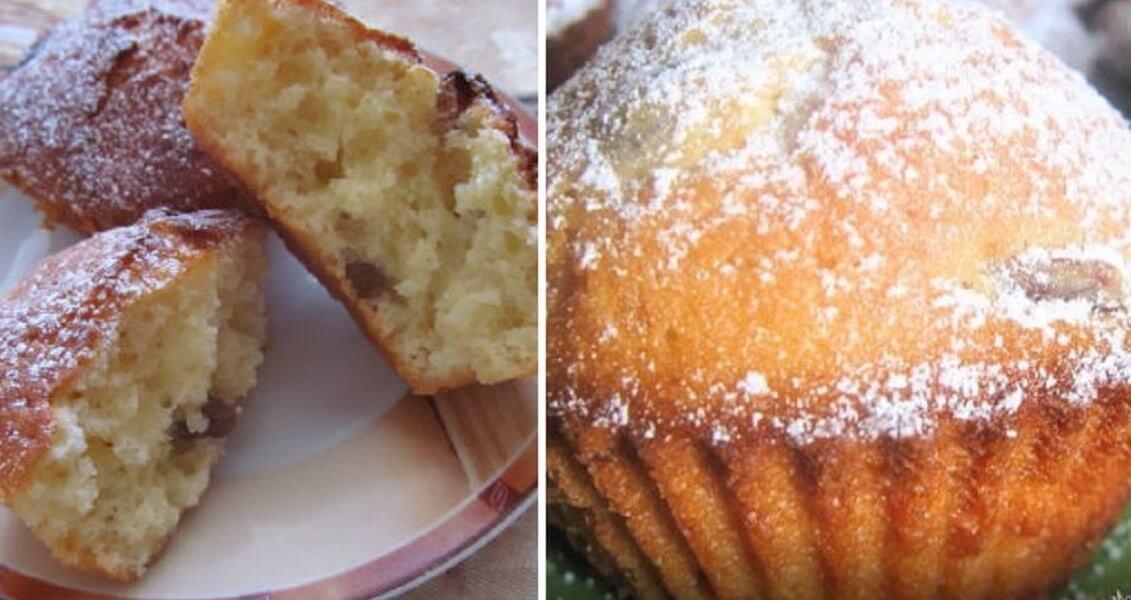 Рецепт приготовления кексов на творожной основе