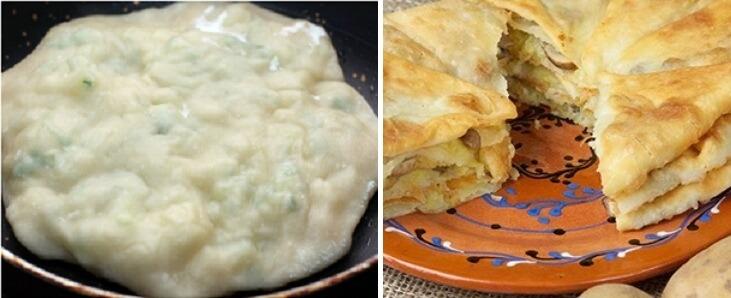 Рецепт приготовления молдавских лепешек - плацинд