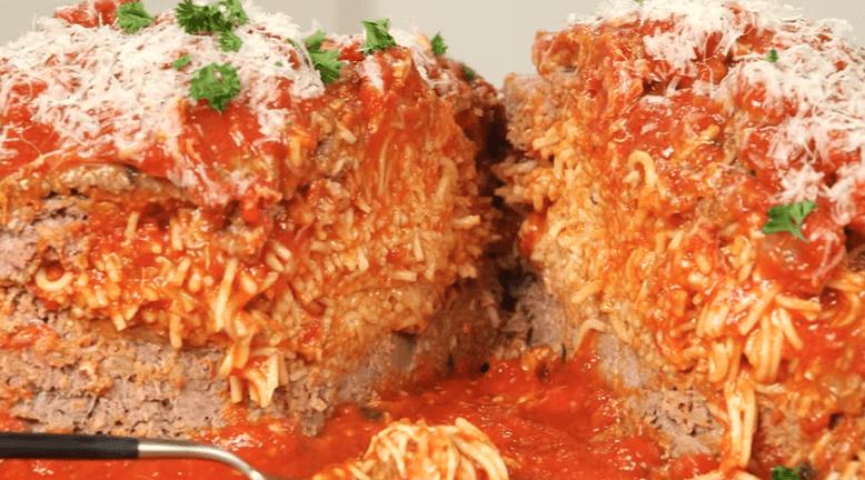 Рецепт приготовления необычных спагетти с фаршем