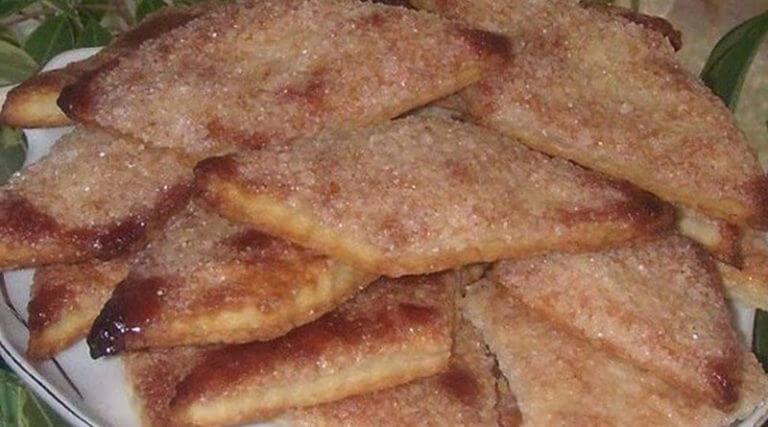 Рецепт приготовления простого хрустящего печенья