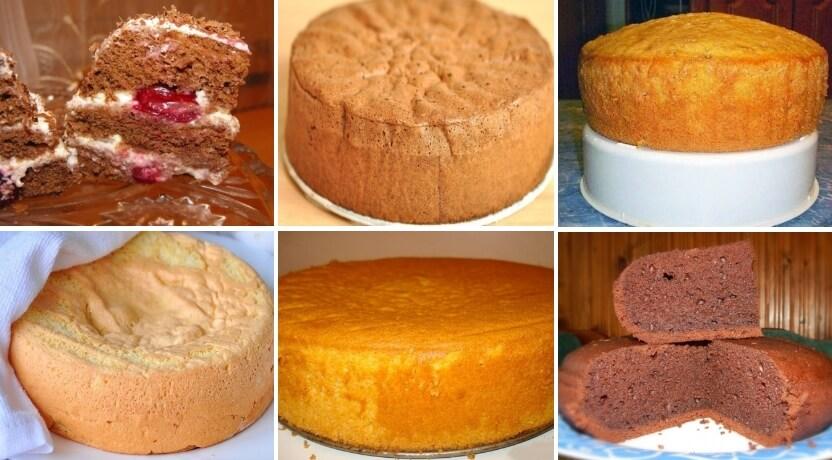 Рецепт вкусного и пышного бисквита: ТОП-5 проверенных вариантов