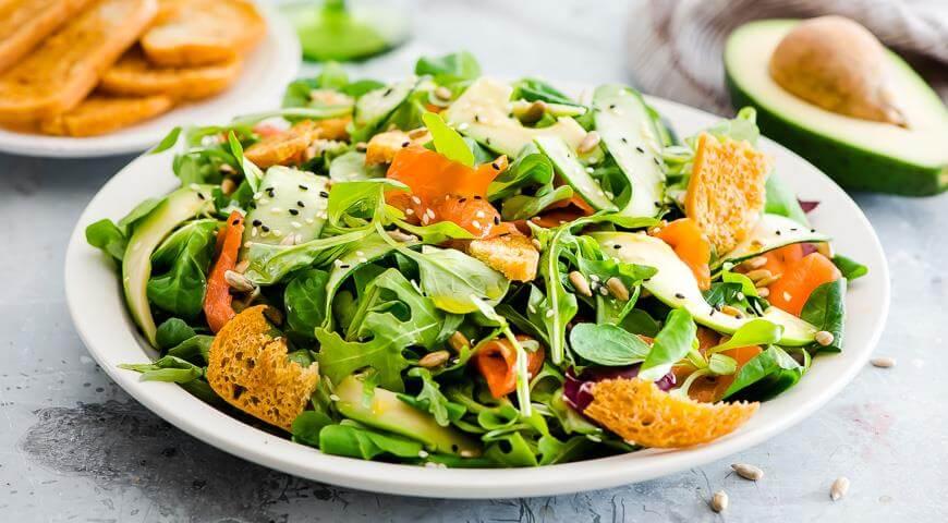 Рецепты полезных и вкусных салатов с авокадо!
