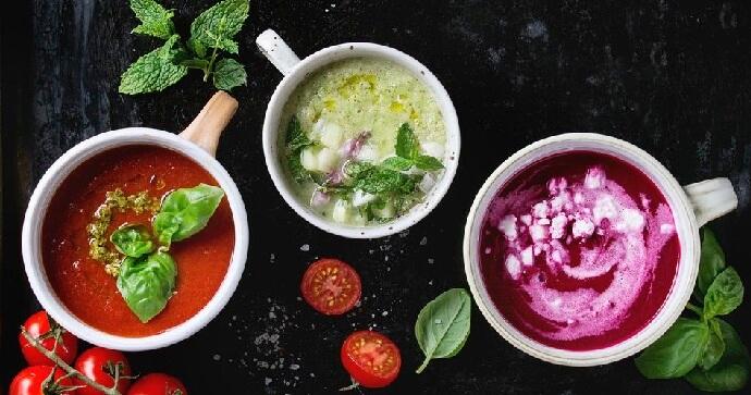 Рецепты вкусных холодных супов: ТОП-7 вегетарианских блюд