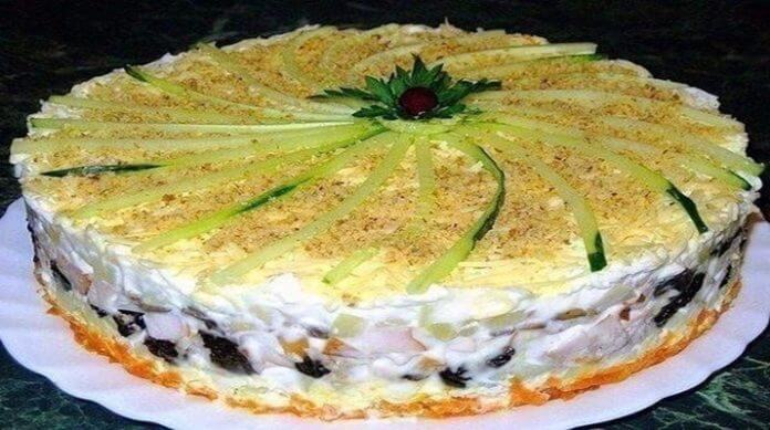Салат торт № 1 в мире. Салат, который займет главное место на любом столе!