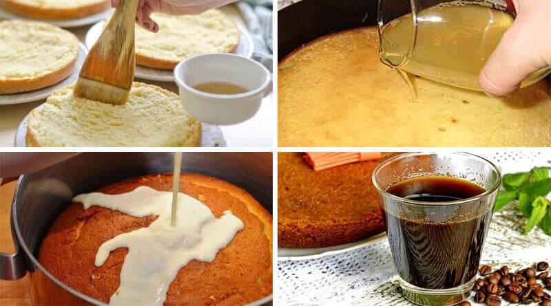 Самые вкусные пропитки для бисквитного торта