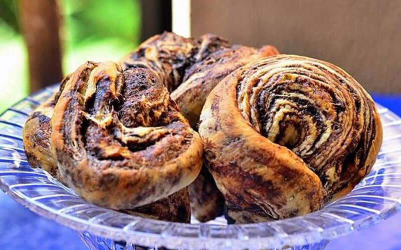 Самые вкусные шоколадные булочки на завтрак