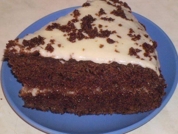 Шоколадный торт на кефире с вкуснейшим кремом