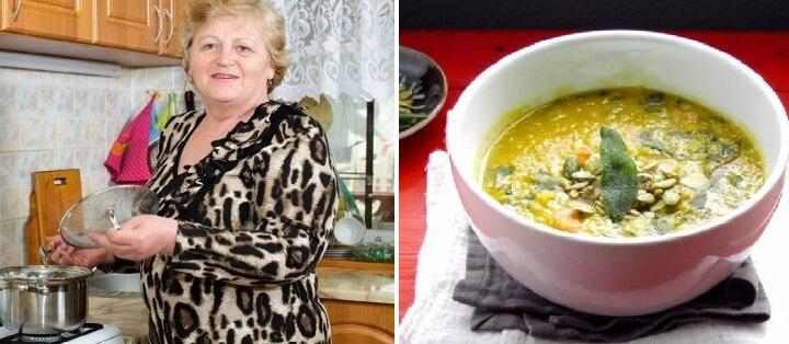 Соседке бабе Нине уже далеко за… Секрет бодрости в одном супчике, который она готовит уже 20 лет!