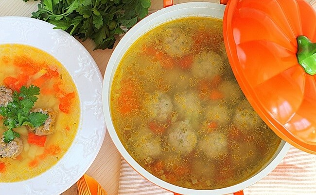 Суп с фрикадельками: как приготовить идеальный суп