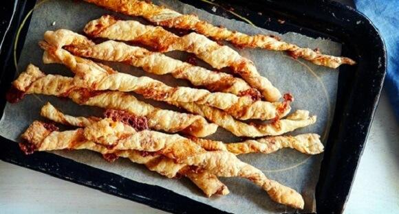 Сырные палочки за 15 минут