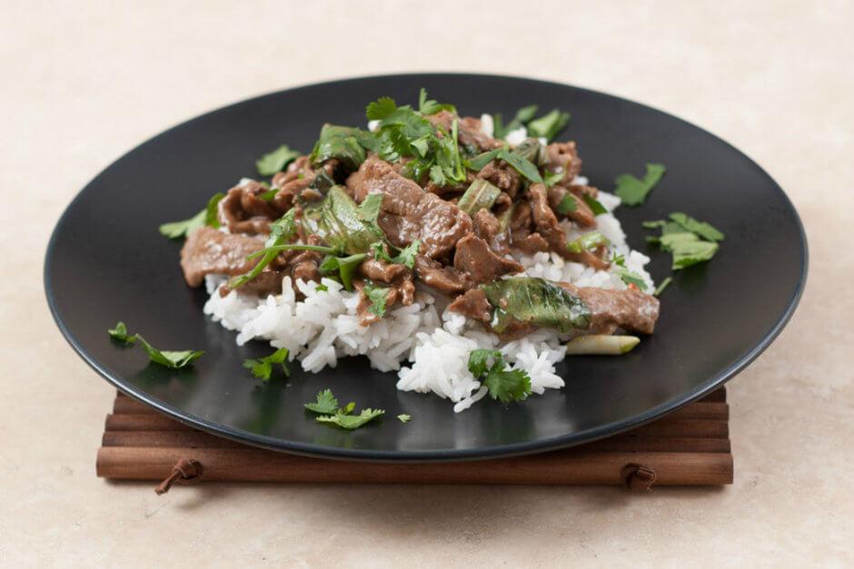 Тайская говядина с базиликом - совершенно новый вкус!
