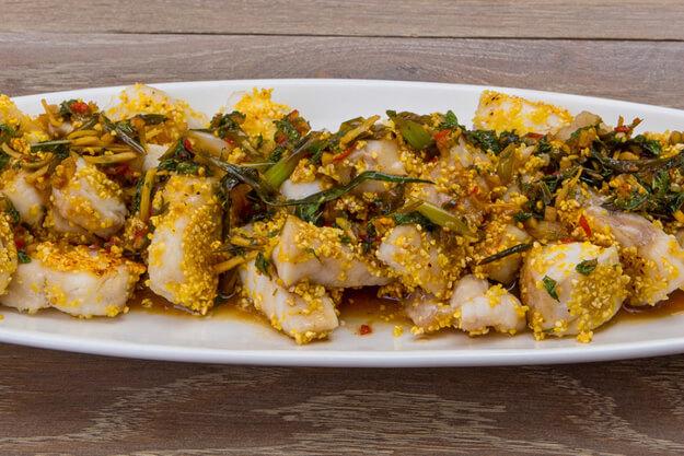Тайская кухня: жареный судак всего за 15 минут!