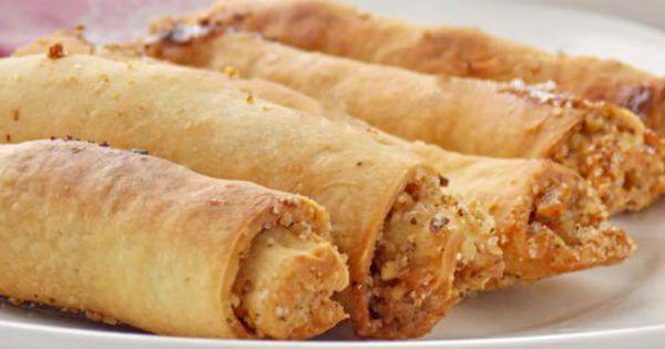 Татарское печенье бармак: никаких яиц в тесте и ароматнейшая начинка. Мегахрустящее лакомство!