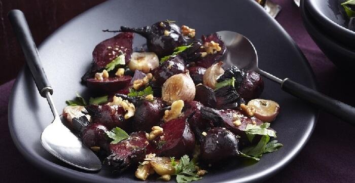 Теплые салаты: рецепты с овощами