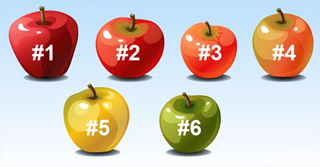 Тест: Выберите яблоко и мы определим, какой у вас характер