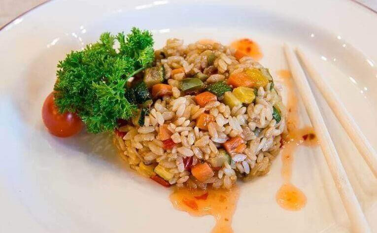 Тяхан (Чаофань) с овощами  - вкуснейший японский плов!