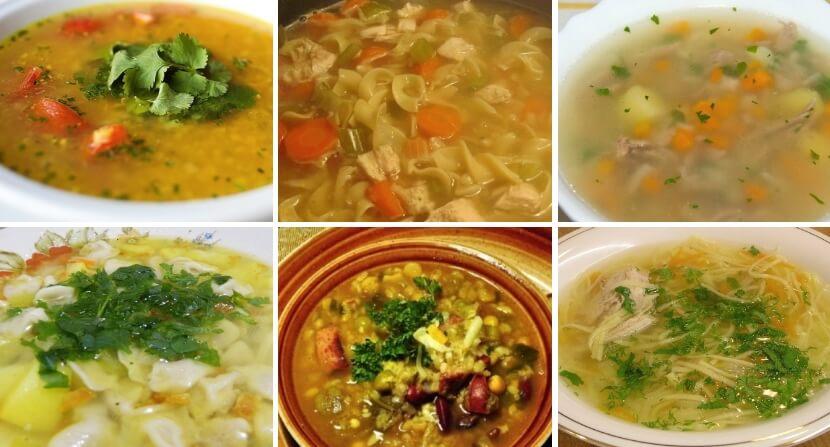 ТОП-5 изумительных рецептов приготовления домашних супов
