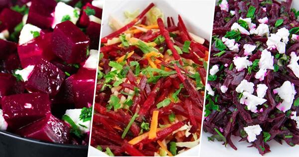 ТОП-5 простых и полезных салатов из сырой свеклы, которые готовятся за считанные минуты!