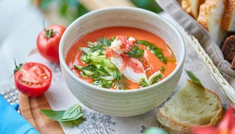 ТОП-5 рецептов вкуснейших холодных супов на лето