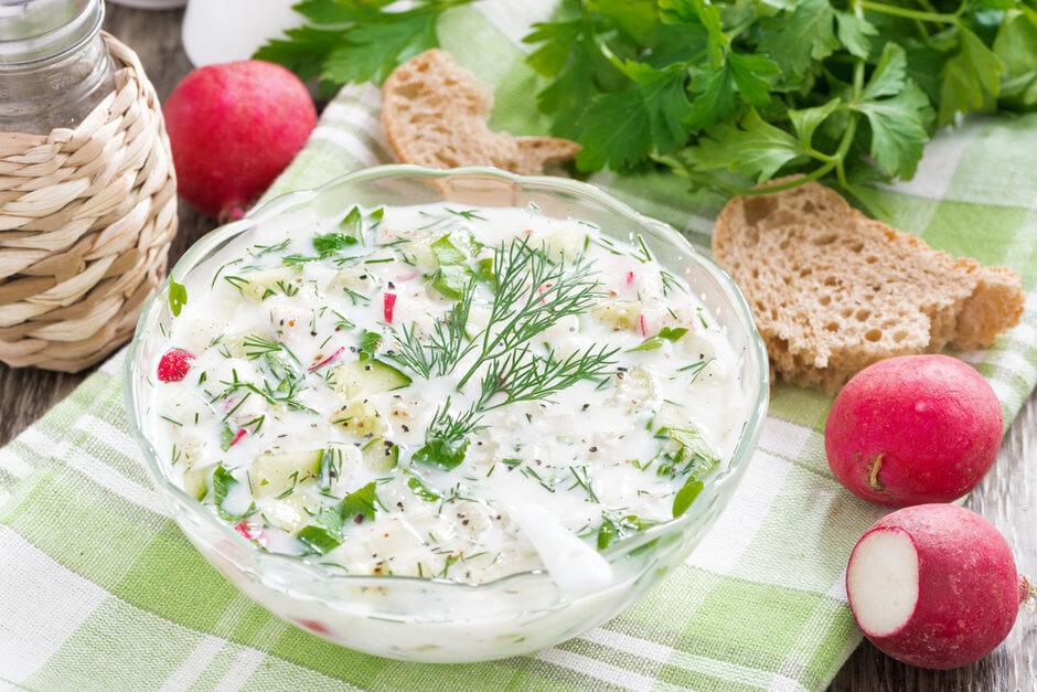 ТОП-5 рецептов вкусной окрошки в домашних условиях