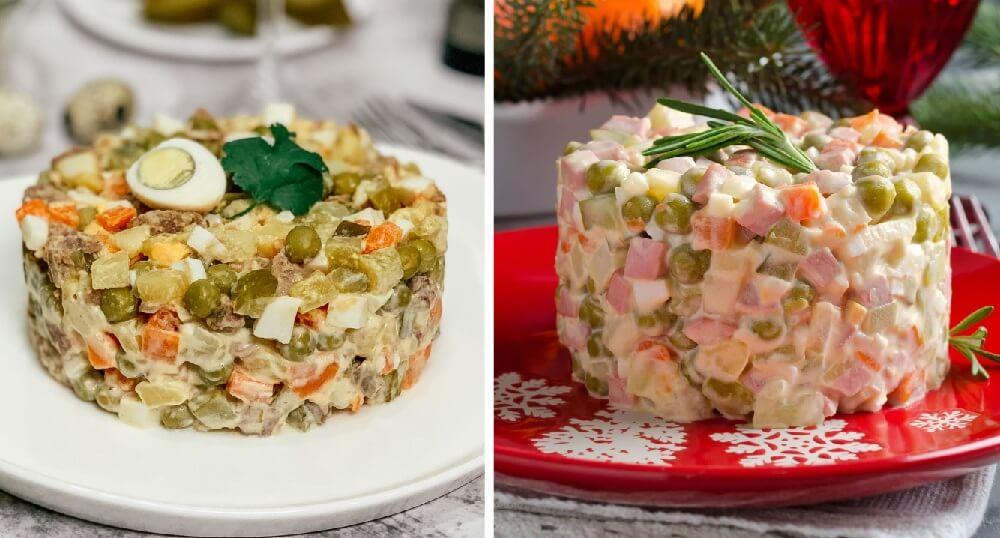 ТОП-5 секретов приготовления вкусного салата Оливье