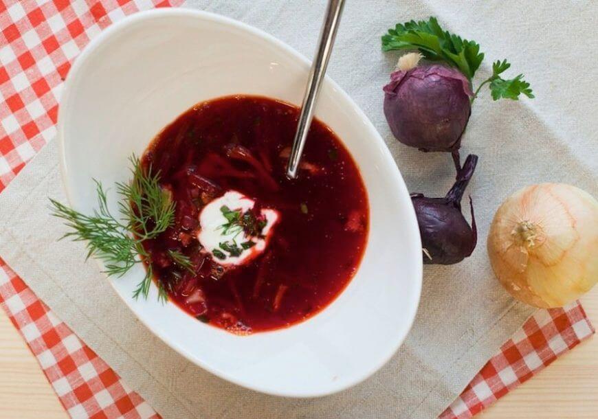 Традиционный украинский борщ – идеальный рецепт!