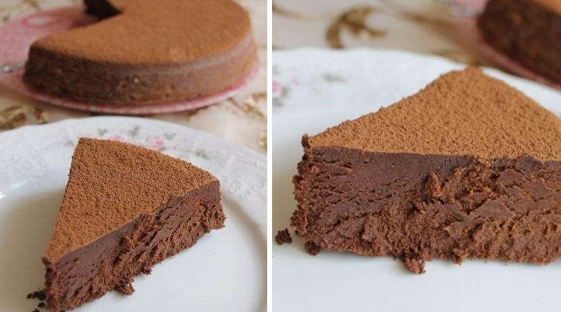 Трюфель Евы. Очень шоколадно, очень нежно, просто тает!