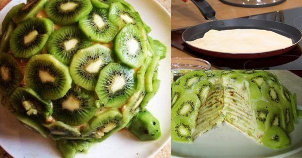 Вкуснейший домашний торт без выпечки «Изумрудная черепаха» за 30 минут!