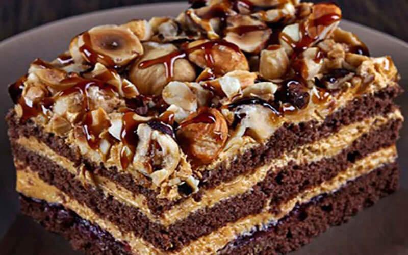 Вкуснейший многослойный шоколадный торт с кремом