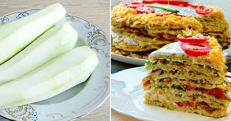 Вкусный торт из кабачков: рецепт с фото пошагово