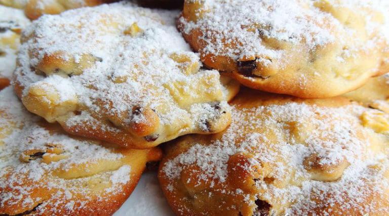 Восхитительное яблочное печенье с корицей и лимонной цедрой