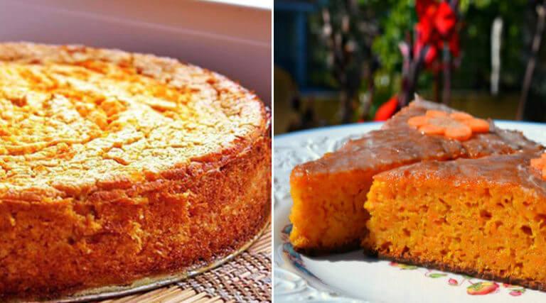 Восхитительный морковный пирог на кефире. Рецепт из детства!