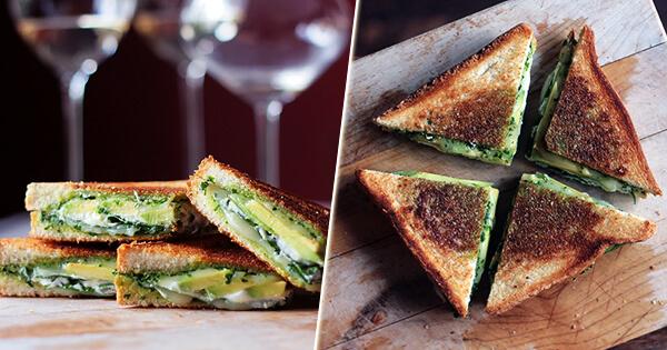 Завтрак за 5 минут: вкуснейшие сэндвичи с авокадо