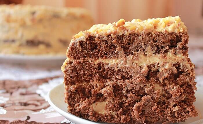 ТОП-4: лучшие рецепты домашнего шоколадного торта