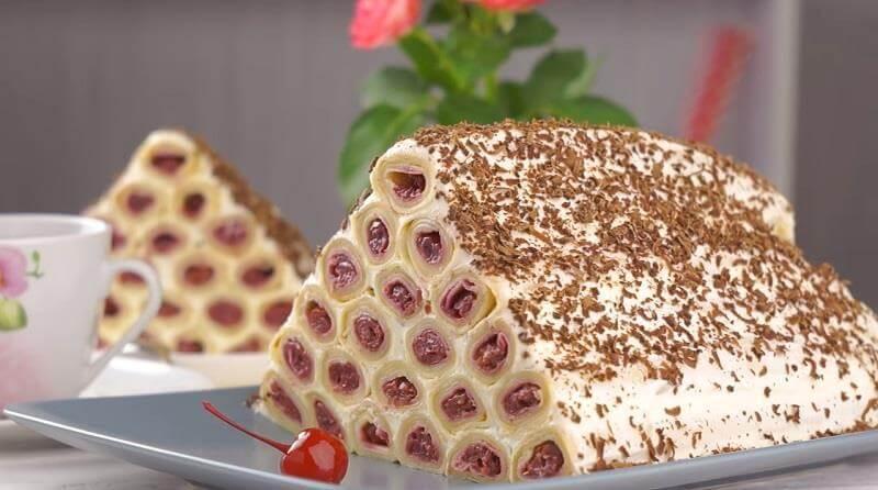 Как приготовить блинный вкусный торт «Монастырская изба»