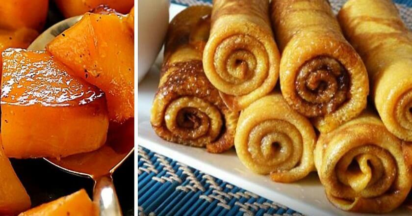 Рецепт вкусных блинов из тыквы