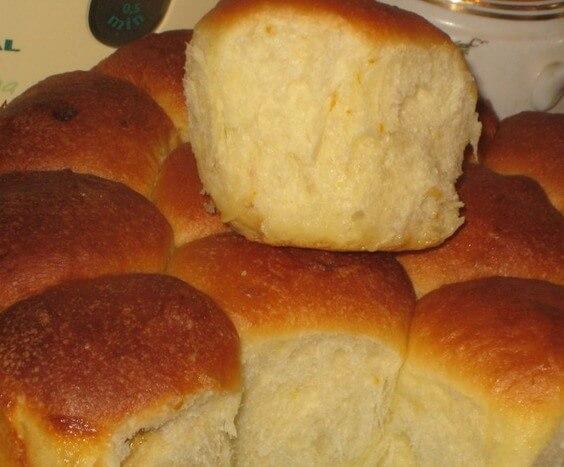 Булочки с начинкой «Молочная нежность»: пошаговый рецепт