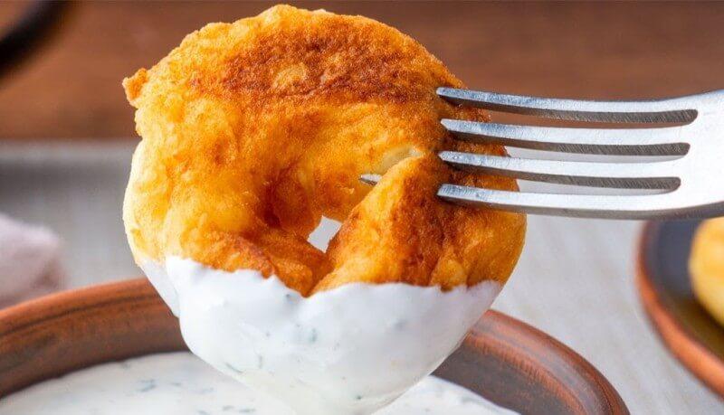 Картофельные крученики