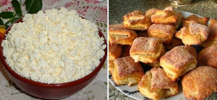 Диетическое печенье с творогом за 5 минут: пошаговый рецепт