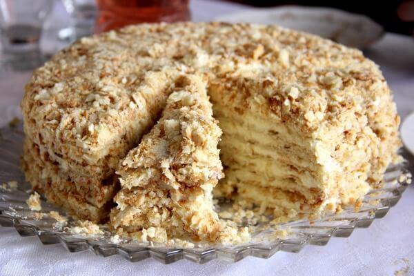 Домашний торт «Светлана» на сковороде