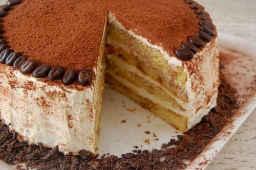 Домашний торт «Тирамису» бисквитный: пошаговый рецепт