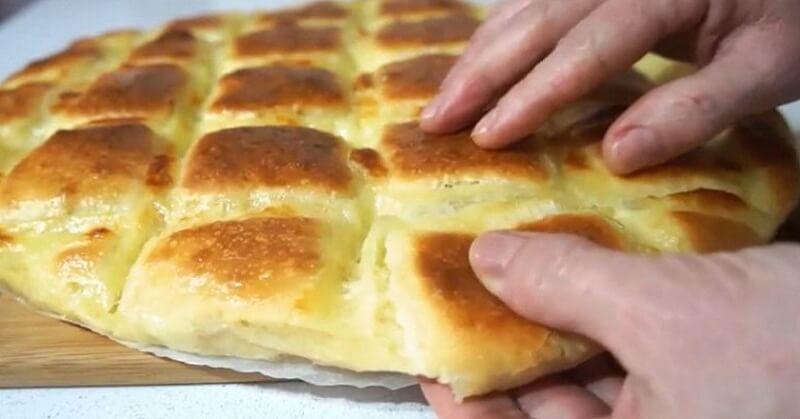 Фокачча с сыром пошаговый рецепт