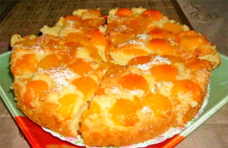 Готовим домашний пирог «Абрикосовый рай»