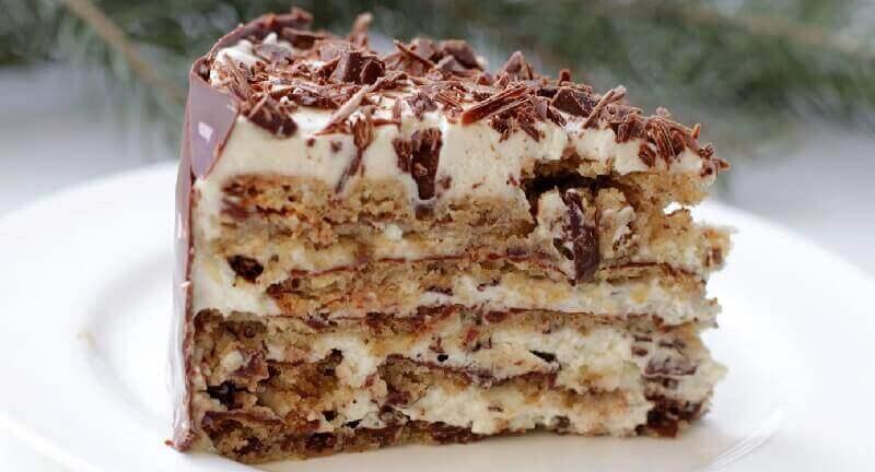 Итальянский ореховый торт без муки: пошаговый рецепт