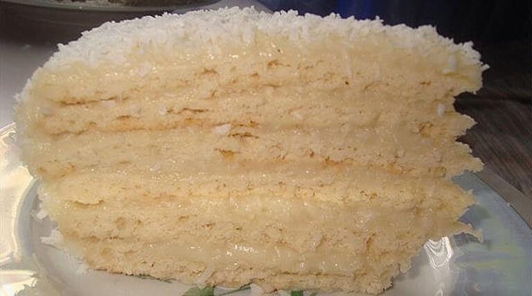 Изысканный торт «Рафаэлло»: вкуснейший десерт!