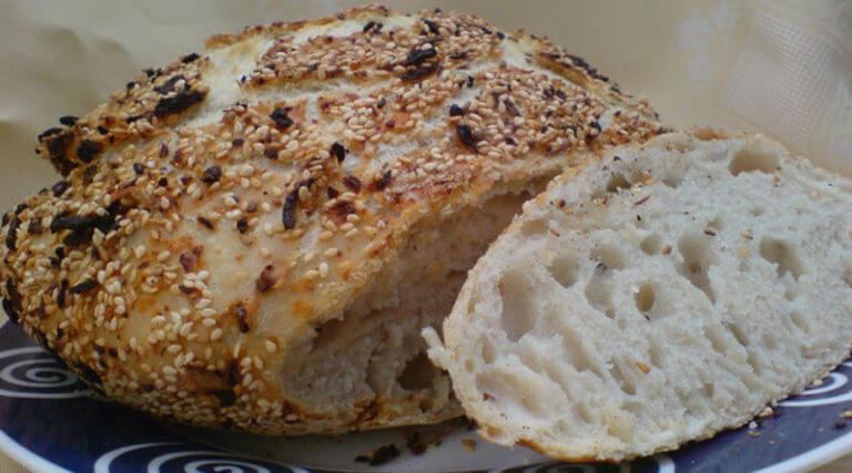 Как быстро приготовить вкусный хлеб без замеса