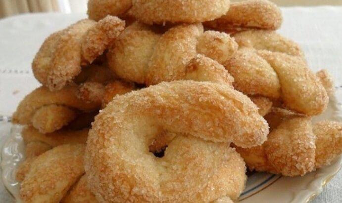 Как приготовить итальянское сахарное печенье Торчетти