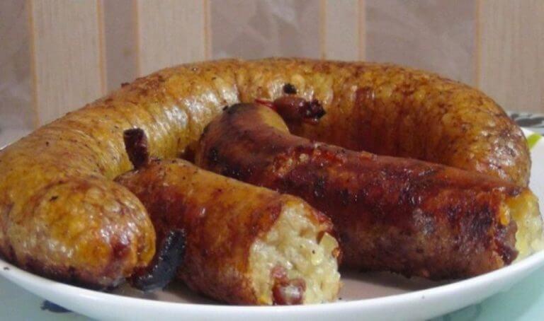 Как приготовить картофельную колбасу в духовке