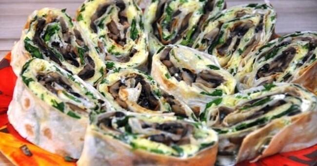 Как приготовить лаваш с овощами