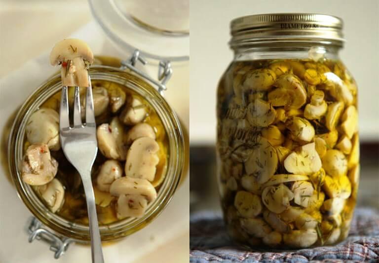 Маринад для любых грибов